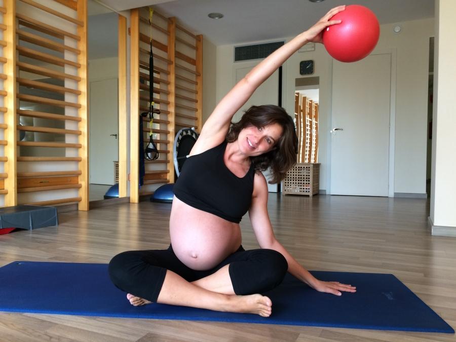 ejercicios gimnasio para embarazadas